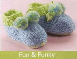Bernat: Pattern Detail - KW - Precious Booties (knit)