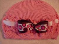 knitted crochet pattern baby hat cap beanie