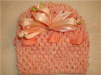 knitted crochet pattern baby hat cap beanie