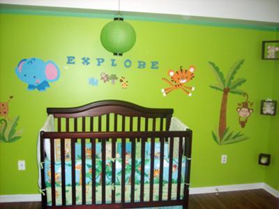 Kylans Tropical Rainforest Nursery Theme