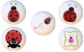 ladybug bug drawer pulls knobs hardware