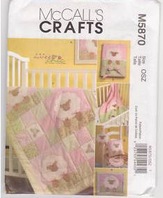 Lamb Baby Crib Quilt Pattern Baby Bib Sheep Stuffed Toy