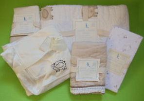 Sweet Lambie PB Kids Baby Nursery Bedding Set