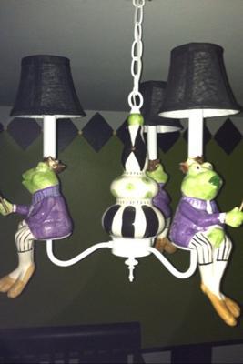 Prince Frog Nursery Chandelier