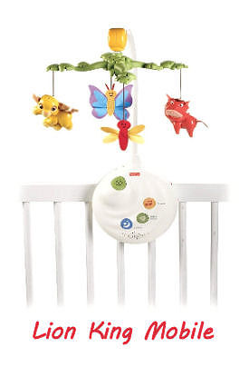 Lion King baby crib mobile