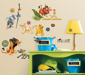 Lion King wall stickers collection