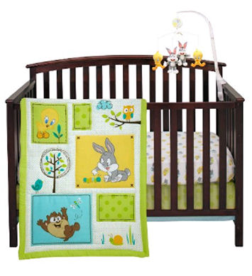 Baby Looney Tunes cartoons baby nursery theme decorating ideas