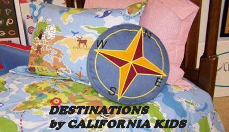 World Map Bedding