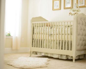 Baby Matthew's classic Winnie the Pooh nursery