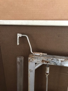Metal Mattress Support Hook for a Simmons Baby Crib