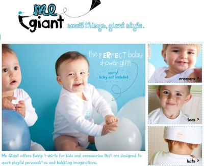 Me Giant Clothing Presented in a Cute Kids' Lunchbox is a Wonderful Baby Shower Gift