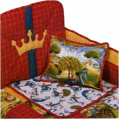 Discount Baby Bedding on Knights And Dragons   Cheap Baby Bedding Sets