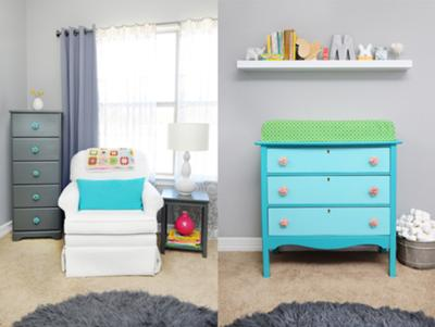 Changing Table & Glider