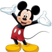 Disney Mickey Mouse baby boy nursery wall stickers and decals