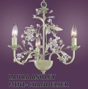 Laura Ashley Mini-Chandelier