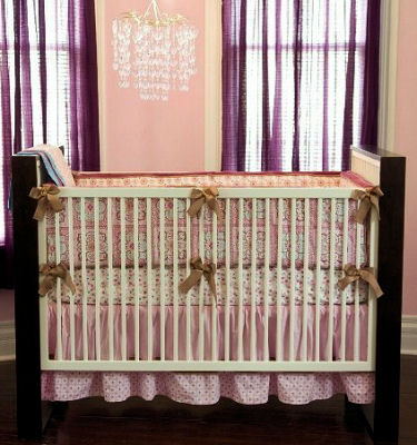 Modern Baby Girl Nursery Decorating Ideas