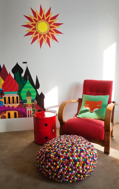 Modern exotic Moroccan baby nursery theme decorating ideas.