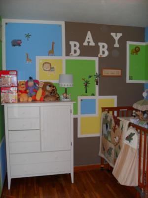 Modern Neutrally Animalistic Baby Nursery Design