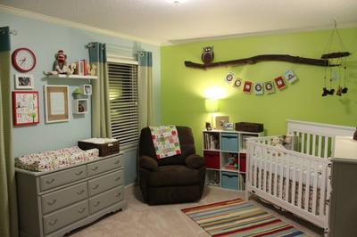 Modern Woodland Creature Themed Nursery Ideas For Baby Jensen