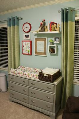 Decor above dresser/changing table