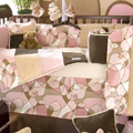 http://modern baby crib bedding contemporary nursery brown pink chocolate sets affordable cheap inexpensive