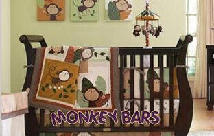 monkey mobile monkey baby mobile crib mobile