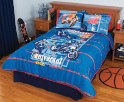 kids motocross bedding comforter sets