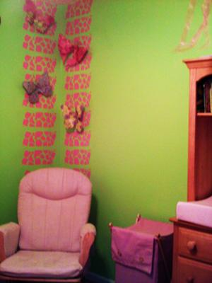 A Pink and Green Nursery for my Gypsy Baby Girl