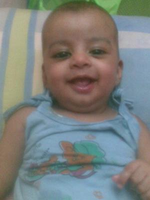 MY SMILING BABY BOY