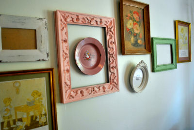Vintage Nursery Wall Decor - My Growing Picture Frame Collection