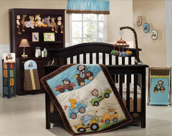 nascar baby bedding crib set nursery picture