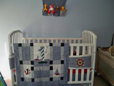 home design nautical baby room decor. Black Bedroom Furniture Sets. Home Design Ideas
