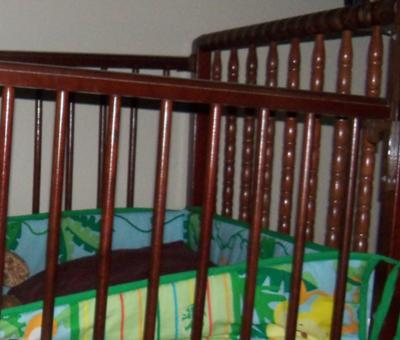 Partial Picture of the Nelson Baby Crib
