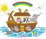 Noah s Noahs Ark baby nursery room wall decals