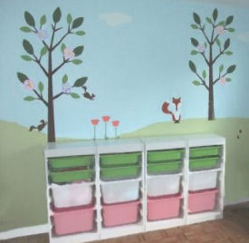 Baby Stencils Nursery Wall Stencils For Stylish Baby Rooms