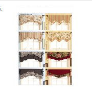 Nursery valances curtains window treatments pattern for a baby nursery room