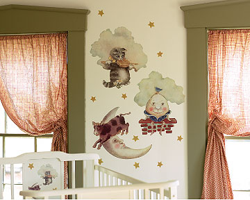 baby nursery room stickers name decals and wall hangings wall designs
