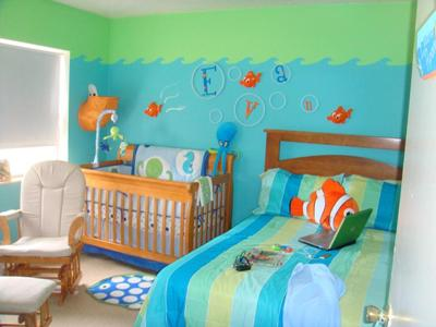 The best Ocean Themed Baby Nursery EVER.