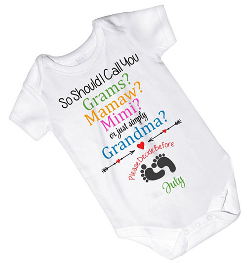 Funny Birth Announcement Baby Onesies