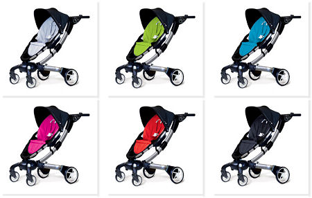 4moms Origami Power Folding Stroller with Power Generator and Cell Phone Charger
