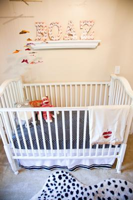 Our Baby Boy's Eclectic Nursery Decor