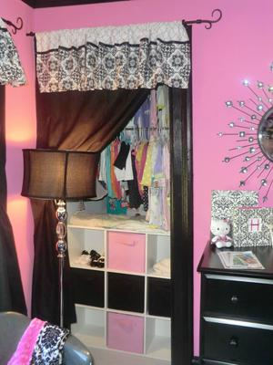 Our Baby Girl S Small Pink And Black Punk Nursery