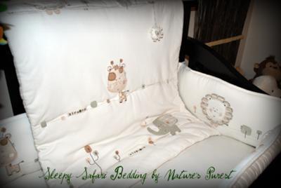 Sleepy Safari Baby Bedding