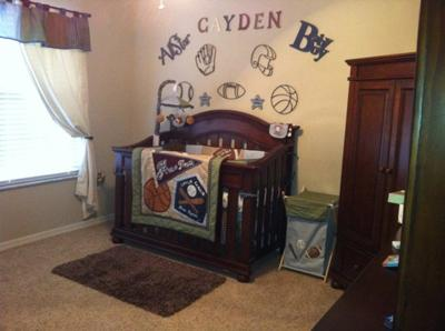 our miracle baby 39 s all star sports nursery theme. Black Bedroom Furniture Sets. Home Design Ideas