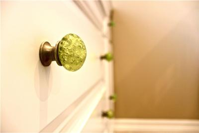 Lime Green Baby Dresser Drawer Pulls
