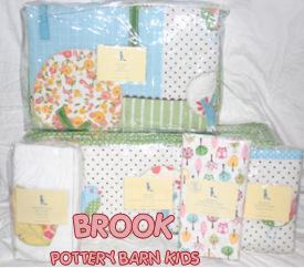 pastel owl baby nursery crib bedding set theme