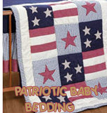 patriotic red white blue baby bedding crib bedding nursery bedding sets