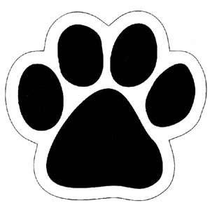 puppy dog paw print stencil printable free puppy paw print image