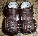 boys brown leather fishman sandals pedipeds baby shoes