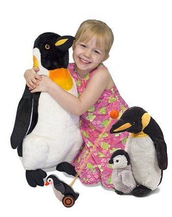 Penguin baby shower gift ideas for the nursery